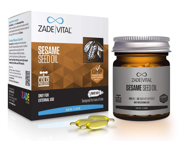 Sesame Seed Oil - 30 Twist-Off Softgels