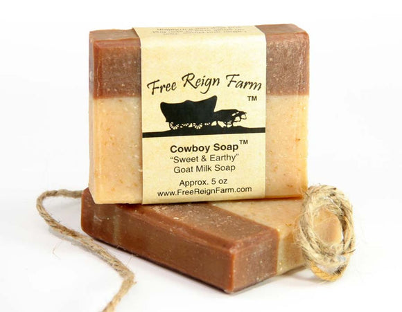 Cowboy Soap (5oz) - 4 Pack