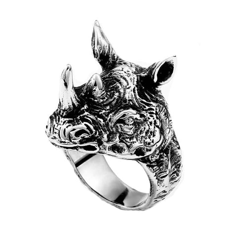 Rhino Ring - The Skull Crown - Express Yourself With Bold Jewelry