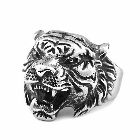 Mighty Tiger Ring - The Skull Crown - Express Yourself With Bold Jewelry