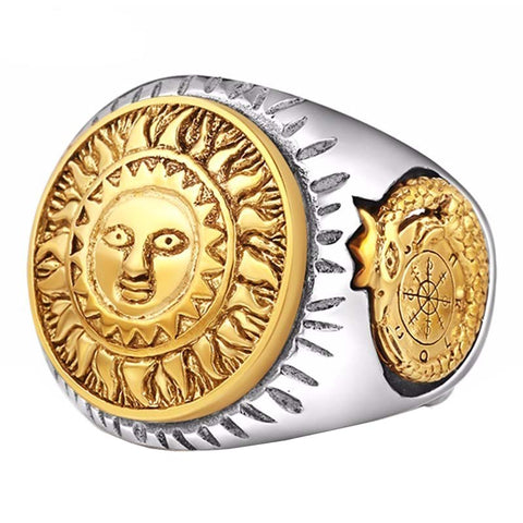 Sun God Ring - The Skull Crown - Express Yourself With Bold Jewelry