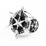 Hexagonal Star Ring - The Skull Crown - Express Yourself With Bold Jewelry