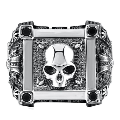Royal Skull Ring - The Skull Crown - Express Yourself With Bold Jewelry