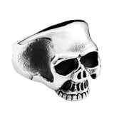 Half Jaw Skull Ring - The Skull Crown - Express Yourself With Bold Jewelry