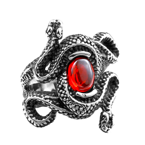 Aphrodite Snake Ring - The Skull Crown - Express Yourself With Bold Jewelry