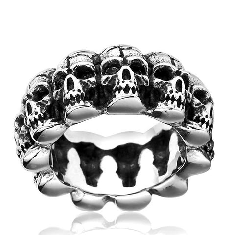 Catacomb Skull Ring - The Skull Crown - Express Yourself With Bold Jewelry