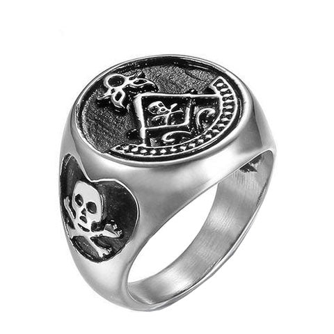 Masons Skull Ring - The Skull Crown - Express Yourself With Bold Jewelry