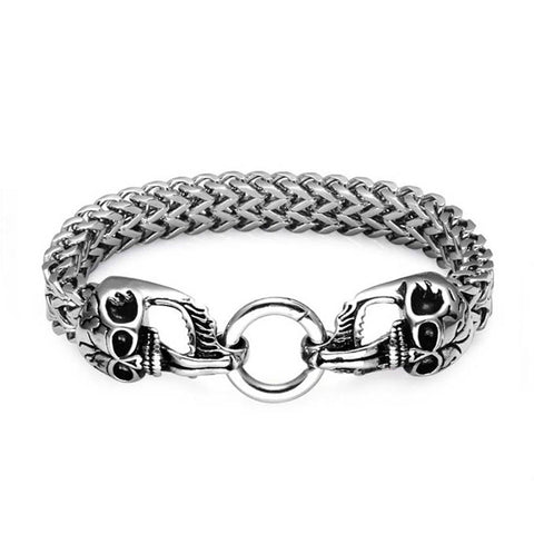 Skull Head Bracelet - The Skull Crown - Express Yourself With Bold Jewelry