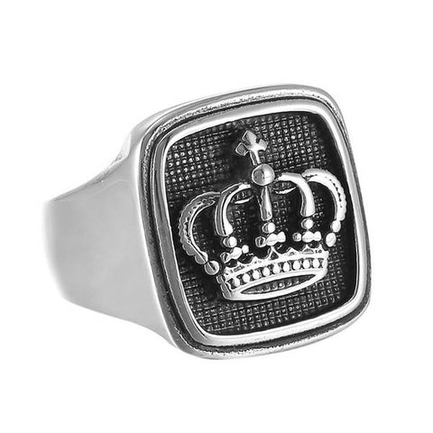 Imperial Crown Ring - The Skull Crown - Express Yourself With Bold Jewelry