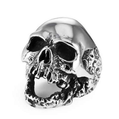 Melting Skull Ring - The Skull Crown - Express Yourself With Bold Jewelry