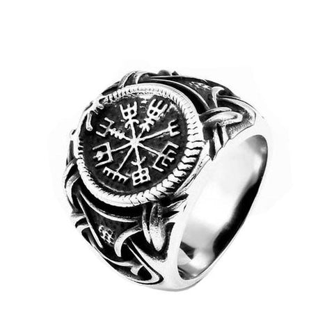 Vegvisir Ring - The Skull Crown - Express Yourself With Bold Jewelry
