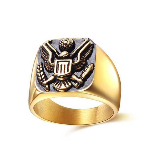 Presidential Eagle Ring - The Skull Crown - Express Yourself With Bold Jewelry
