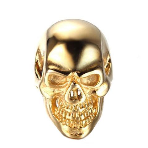 Gold Skull Ring - The Skull Crown - Express Yourself With Bold Jewelry