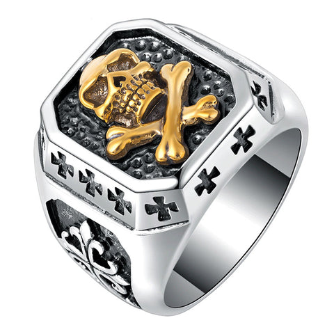 Rebel Skull Ring - The Skull Crown - Express Yourself With Bold Jewelry