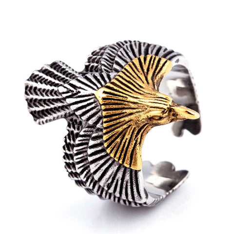 Eagle Of Freedom Ring - The Skull Crown - Express Yourself With Bold Jewelry