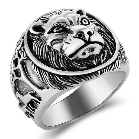 Lion Ring - The Skull Crown - Express Yourself With Bold Jewelry