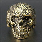Calvera Skull Ring - The Skull Crown - Express Yourself With Bold Jewelry
