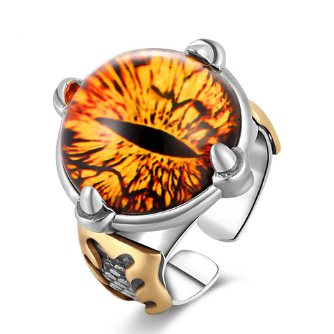 Dragon Eye Ring - The Skull Crown - Express Yourself With Bold Jewelry