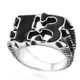 Lucky 13 Claw Ring - The Skull Crown - Express Yourself With Bold Jewelry