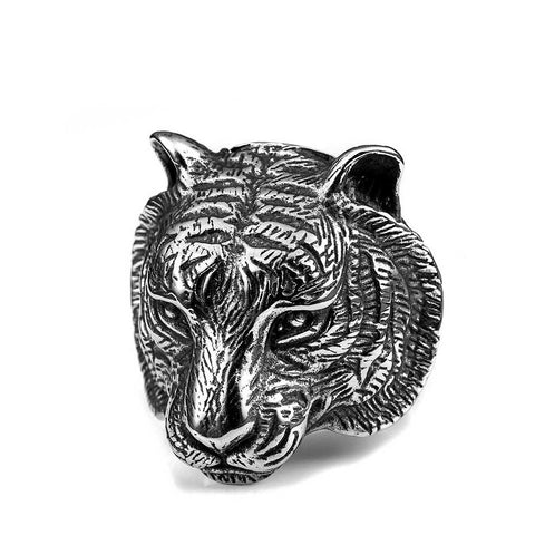 Grand Tiger Ring - The Skull Crown - Express Yourself With Bold Jewelry