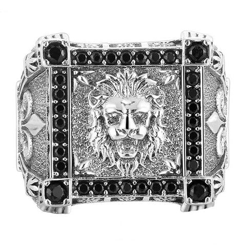 Nobel Lion Ring - The Skull Crown - Express Yourself With Bold Jewelry