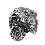 Viking Rage Ring - The Skull Crown - Express Yourself With Bold Jewelry