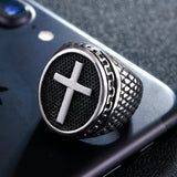 Signet Cross Ring - The Skull Crown - Express Yourself With Bold Jewelry
