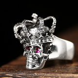 Skull King Ring - The Skull Crown - Express Yourself With Bold Jewelry