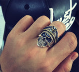Skull General Ring - The Skull Crown - Express Yourself With Bold Jewelry