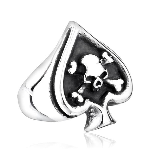 Lucky Bones Ring - The Skull Crown - Express Yourself With Bold Jewelry
