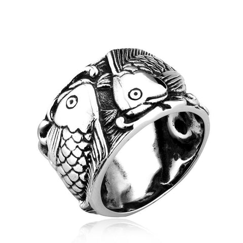 Lucky Koi Ring - The Skull Crown - Express Yourself With Bold Jewelry