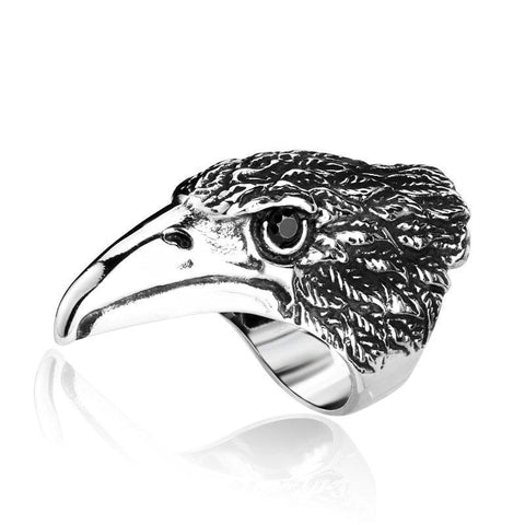 Big Eagle Ring - The Skull Crown - Express Yourself With Bold Jewelry