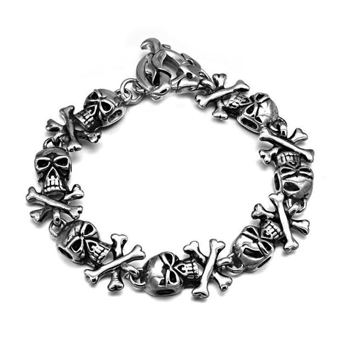 Signature Skull Bracelet - The Skull Crown - Express Yourself With Bold Jewelry