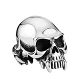 Vampire Skull Ring - The Skull Crown - Express Yourself With Bold Jewelry