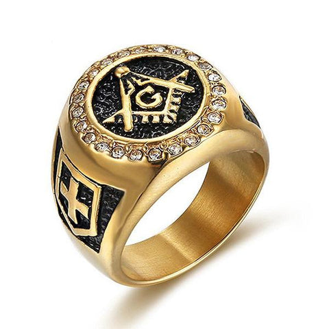 Masons Diamond Ring - The Skull Crown - Express Yourself With Bold Jewelry