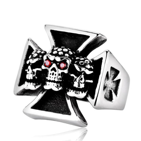 Skull Bandits Ring - The Skull Crown - Express Yourself With Bold Jewelry