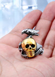 Expendable Skull Ring - The Skull Crown - Express Yourself With Bold Jewelry