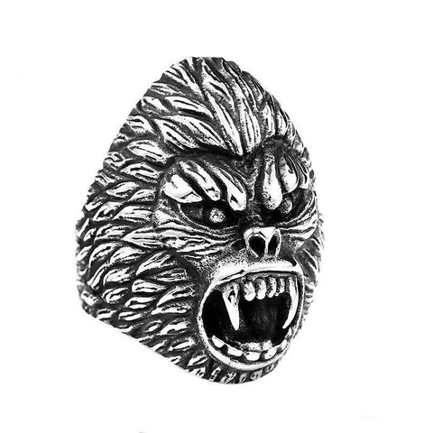 King Kong Fury Ring - The Skull Crown - Express Yourself With Bold Jewelry