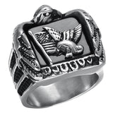 American Eagle Ring - The Skull Crown - Express Yourself With Bold Jewelry