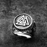 Valknut Ring - The Skull Crown - Express Yourself With Bold Jewelry