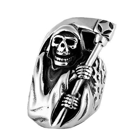 Reaper Skull Ring - The Skull Crown - Express Yourself With Bold Jewelry