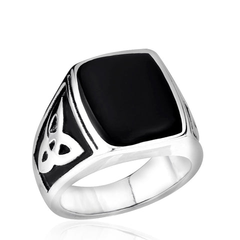 Viking Stone Ring - The Skull Crown - Express Yourself With Bold Jewelry