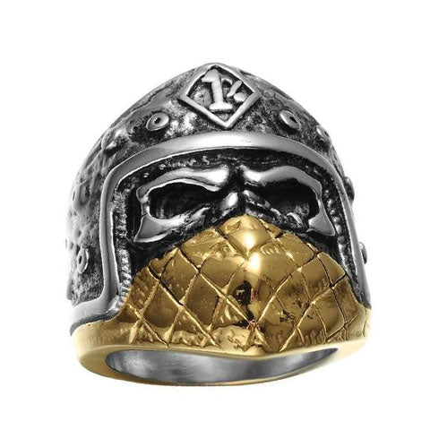 Masked 1% Skull Ring - The Skull Crown - Express Yourself With Bold Jewelry