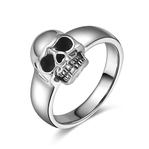 Discrete Skull Ring - The Skull Crown - Express Yourself With Bold Jewelry