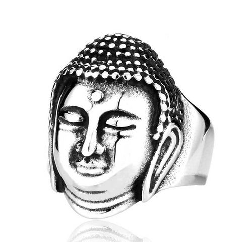 Buddha Ring - The Skull Crown - Express Yourself With Bold Jewelry