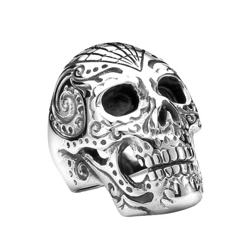 Diamond Skull Ring - The Skull Crown - Express Yourself With Bold Jewelry