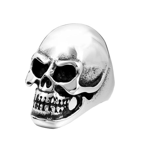 Anatomical Skull Ring - The Skull Crown - Express Yourself With Bold Jewelry