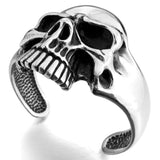 Large Skull Cuff - The Skull Crown - Express Yourself With Bold Jewelry