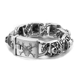 Master Skull Bracelet - The Skull Crown - Express Yourself With Bold Jewelry