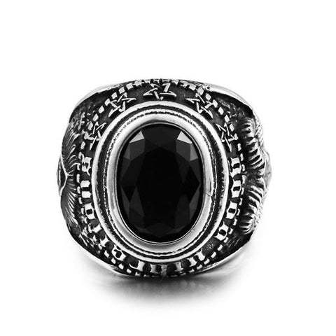 Masons Totem Ring - The Skull Crown - Express Yourself With Bold Jewelry